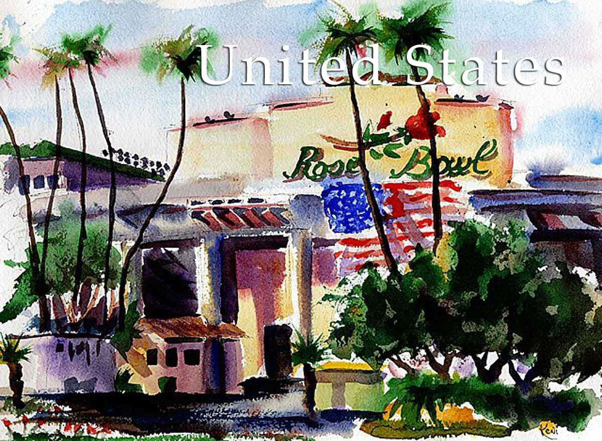United States artwork, USA